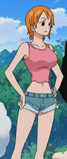 Nami pre-timeskip