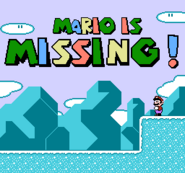Mario is Missing! - Title Screen