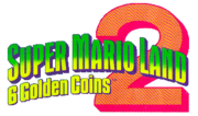 Super Mario Land 2 6 Goldend Coins Logo
