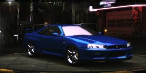 Nissan Skyline GT-R R34 (2000)