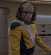 Worf hologram, 2369