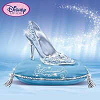 Glass Slipper Figurine