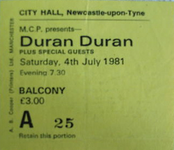 City Hall, Newcastle, England wikipedia duran duran ticket