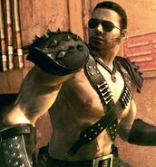 Chris Redfield Warrior Costume