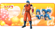 Toriko Anime Design