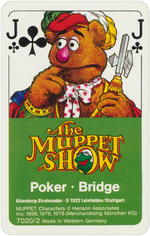 1978 playing cards cover