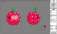 Modelsheet wildberryprincessmissingarm - daycolor