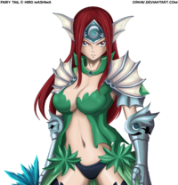 Erza Sea Empress Fanart