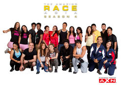 The Amazing Race Asia 4 teams