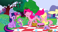 Pinkie Pie excited S2E25