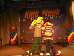 Ernie Bert 2012 Intrepid Museum Kids Week