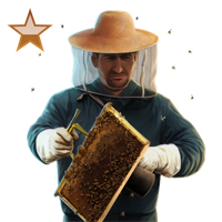 Huge item beekeeper bronze 01