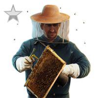 Huge item beekeeper silver 01