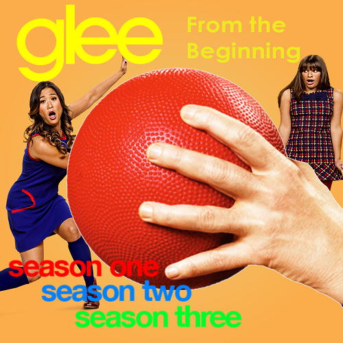Glee From The Beginning Logo Official