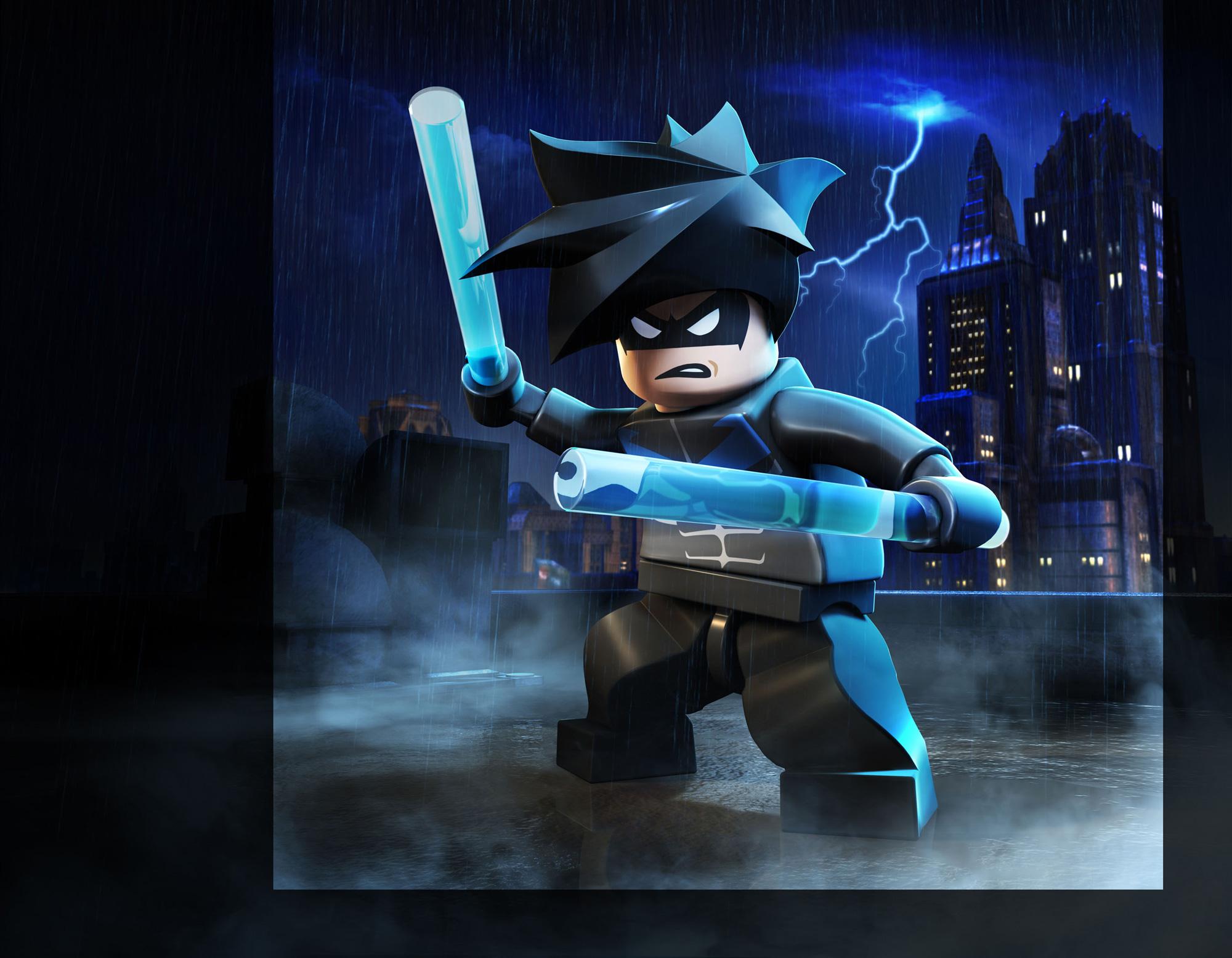 Nightwing LEGO Batman 3