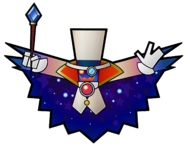 Count Bleck Artwork - Super Paper Mario