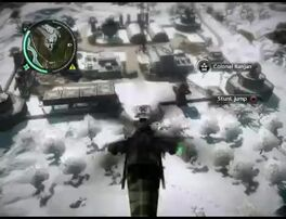 Just Cause 2 - Kem Singa Menerkam - military base 001