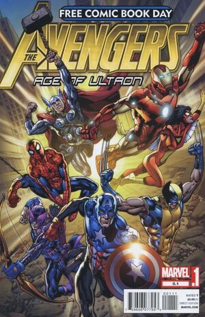 Free Comic Book Day Vol 2012 Avengers