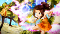 Wakaba & Macao help Cana train