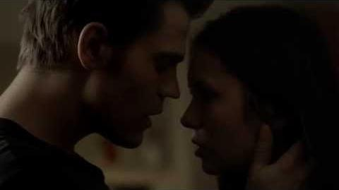"Vampire Diaries 3x22 The Departed - Stefan Kisses Elena ""In case there is no later"""