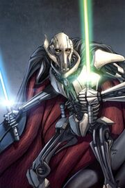 Grievous with sabers