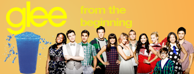Glee From the Beginning Banner
