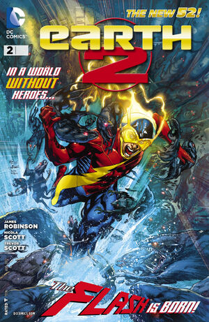 Cover for Earth 2 #2