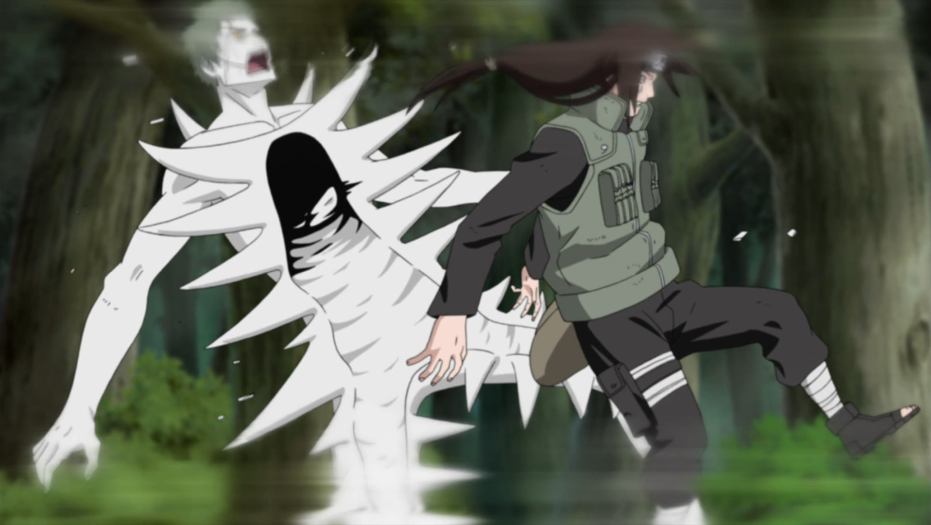 Hyūga Neji Gentle_Fist_Art_One_Blow_Body