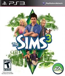 The Sims 3 - PlayStation 3 box art