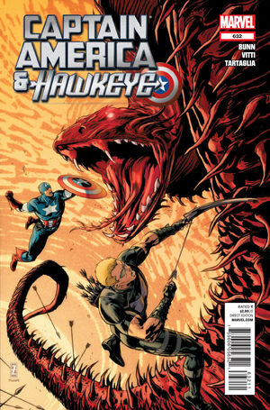 Captain America and Hawkeye Vol 1 632