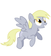 FANMADE Derpy Hooves flying by sierraex