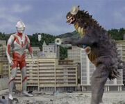 Ultraman gyango ruffian from outerspace 19660925