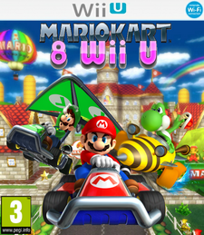 Mario Kart 8 Wii U Box (revision)
