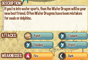 Water dragon info