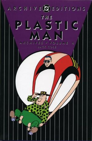 Cover for Plastic Man Archives #4