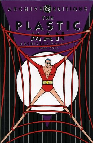 Cover for Plastic Man Archives #7
