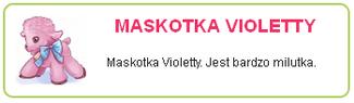 Maskotka Violetty