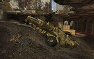 Destroyed Stryker MW3
