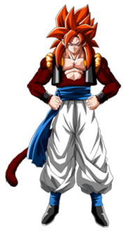 Ssj4 Gogeta - DBGT Dark Dragons Saga