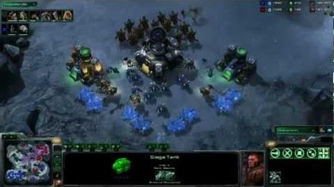 StarCraft II - Heart of the Swarm Alpha - Battle Report 2 - Terran vs Zerg