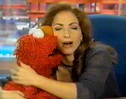 Kiss Elmo Gloria Estefan