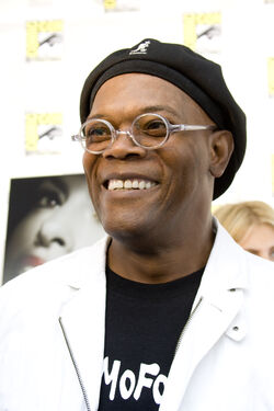 Samuel L Jackson at San Diego ComicCon 2008