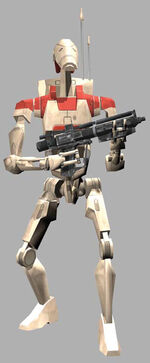 Security battle droid