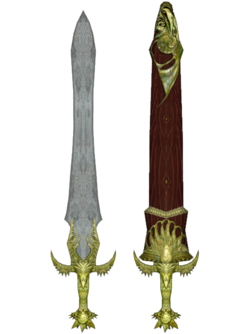 Oblivion ElvenLongsword