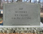 Wotter's ice cream