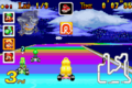 Rainbow Road - Princess Peach Racing - Mario Kart Super Circuit.png