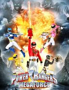 First picture of Power Rangers Megaforce