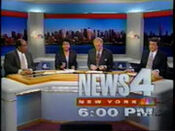 WNBC-TV's News 4 New York At 6 Video Open From Monday Evening, June 20, 1994
