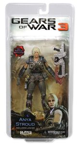 Gears Of War 3 Anya Stroud action figure