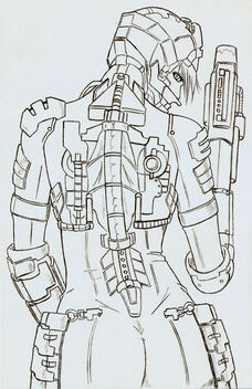 Dead Space Sexy Back Pencils by monkey0toe0man